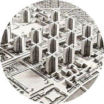 sintaxis espacial 17-Ville contenporanie-Le corbusier