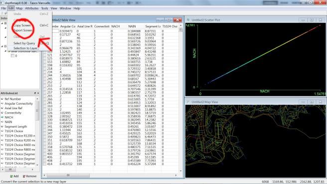 DepthmapX_calculo_sintaxis espacial_34