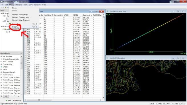 DepthmapX_calculo_sintaxis espacial_35